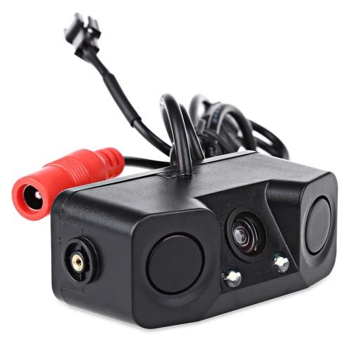 OEM PZ451 170 Degree Viewing Angle HD Car Rear View Camera with Radar Parking Sensor