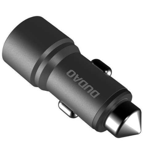 Dudao Universal Car Charger 2x USB 3.1A gray (R5 grey)