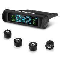 ZEEPIN C240 Tyre Pressure Monitoring System Solar TPMS with 4 External Sensors Auto - Moto