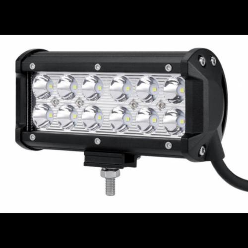 LED αδιάβροχος προβολέας 36W 12 SMD 12V-24V 3240LM 6000K μπάρα για βάρκες τρακτέρ φορτηγά αυτοκίνητα 1 τεμ. IP65 GL-48837