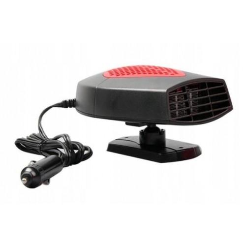 Αερόθερμο αναπτήρα αυτοκινήτου Auto Heater Fan XF-D5001 150W 12V  OEM RED