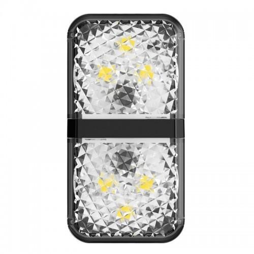 Baseus Door Open Warning Light (2pcs/pack) Black (CRFZD-01)