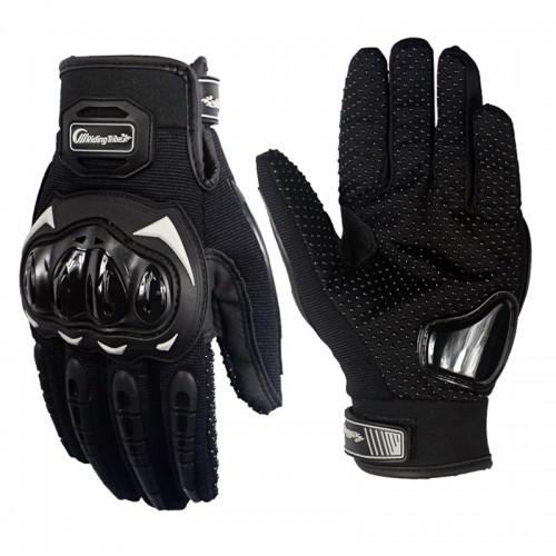 Γάντια Μηχανής μαύρα Riding Tribe MCS - 17