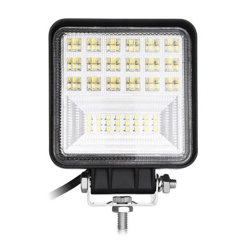 LED προβολέας τετράγωνος 126w αδιάβροχος 4inch