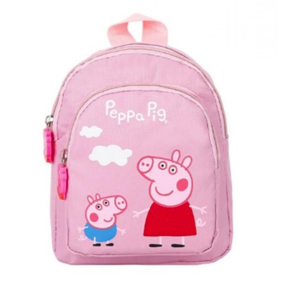 Βρεφική Τσάντα Πλάτης Πέππα ροζ