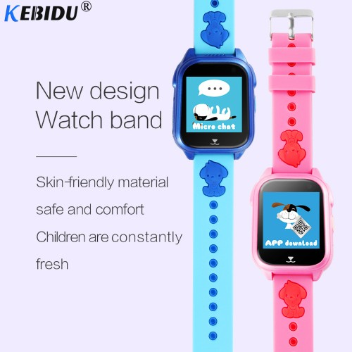 OEM BT01 Παιδικό Smart Watch - Μπλε