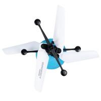 Παιχνίδι ελικόπτερο led ιπτάμενη μπάλα flying ball jm-888 white blue