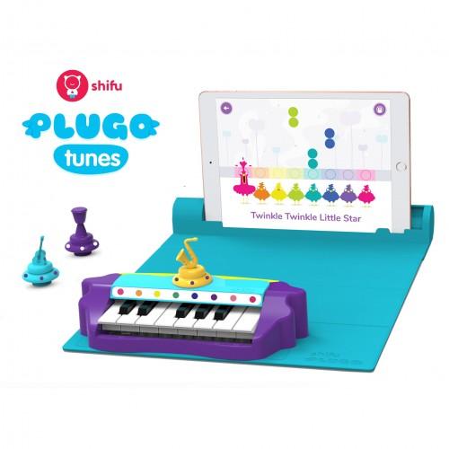 Plugo Piano by PlayShifu Σύστημα παιδικού παιχνιδιού Επαυξημένης Πραγματικότητας γνώσεων με μουσική