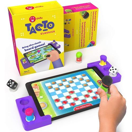 Plugo Tacto Classics by PlayShifu Σύστημα παιδικού παιχνιδιού που μετατρέπει το tablet σας σε Διαδραστικό Επιτραπέζιο Παιχνίδι