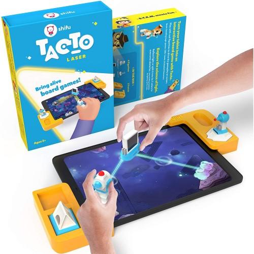 Plugo Tacto Laser by PlayShifu Σύστημα παιδικού παιχνιδιού που μετατρέπει το tablet σας σε Διαδραστικό Επιτραπέζιο Παιχνίδι