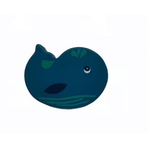 Kiokids Ξύλινη Κουδουνίστρα Φάλαινα 2725