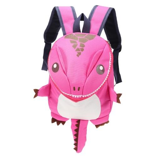 Παιδική τσάντα νηπιαγωγείου δεινόσαυρος ροζ OEM Παιδικά - Βρεφικά