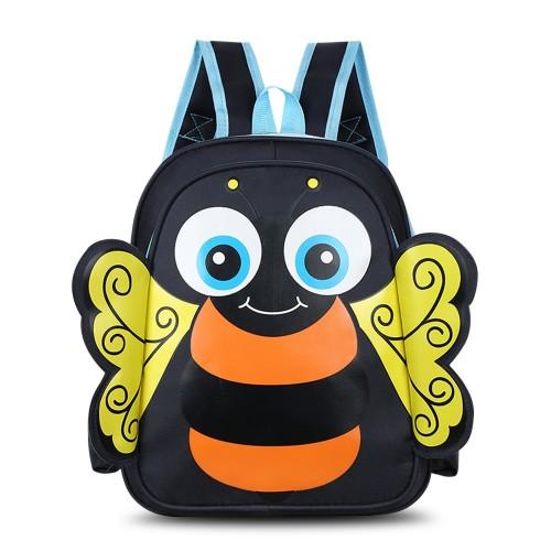 Παιδική τσάντα νηπιαγωγείου μέλισσα  μαύρη I091 Παιδικά - Βρεφικά