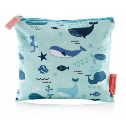 Ανακυκλωμένο Snack Bag Save the Ocean