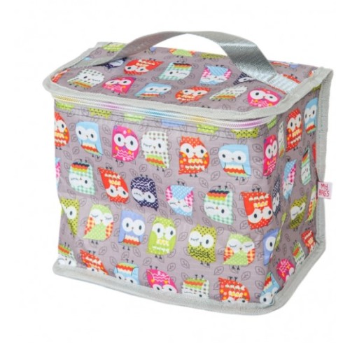 My Bag's Ισοθερμικό Τσαντάκι Φαγητού Ώμου Owl Μ20 x Π14 x Υ20cm