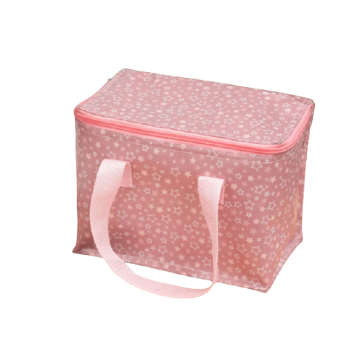 KioKids Ισοθερμική Τσάντα Picnic Stars Ροζ