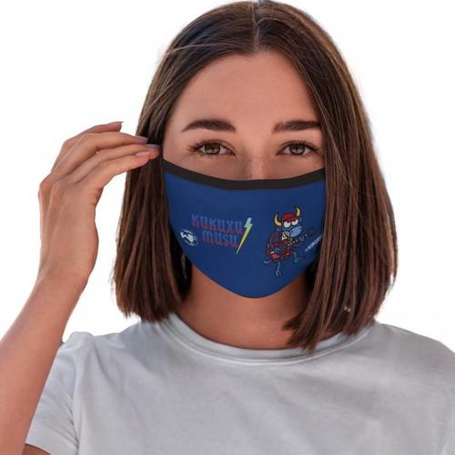 Επαναχρησιμοποιούμενη Μάσκα DC/AN Kukuxumusu με Δέσιμο Κεφάλι