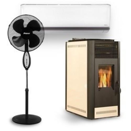 Θέρμανση, Κλιματισμός